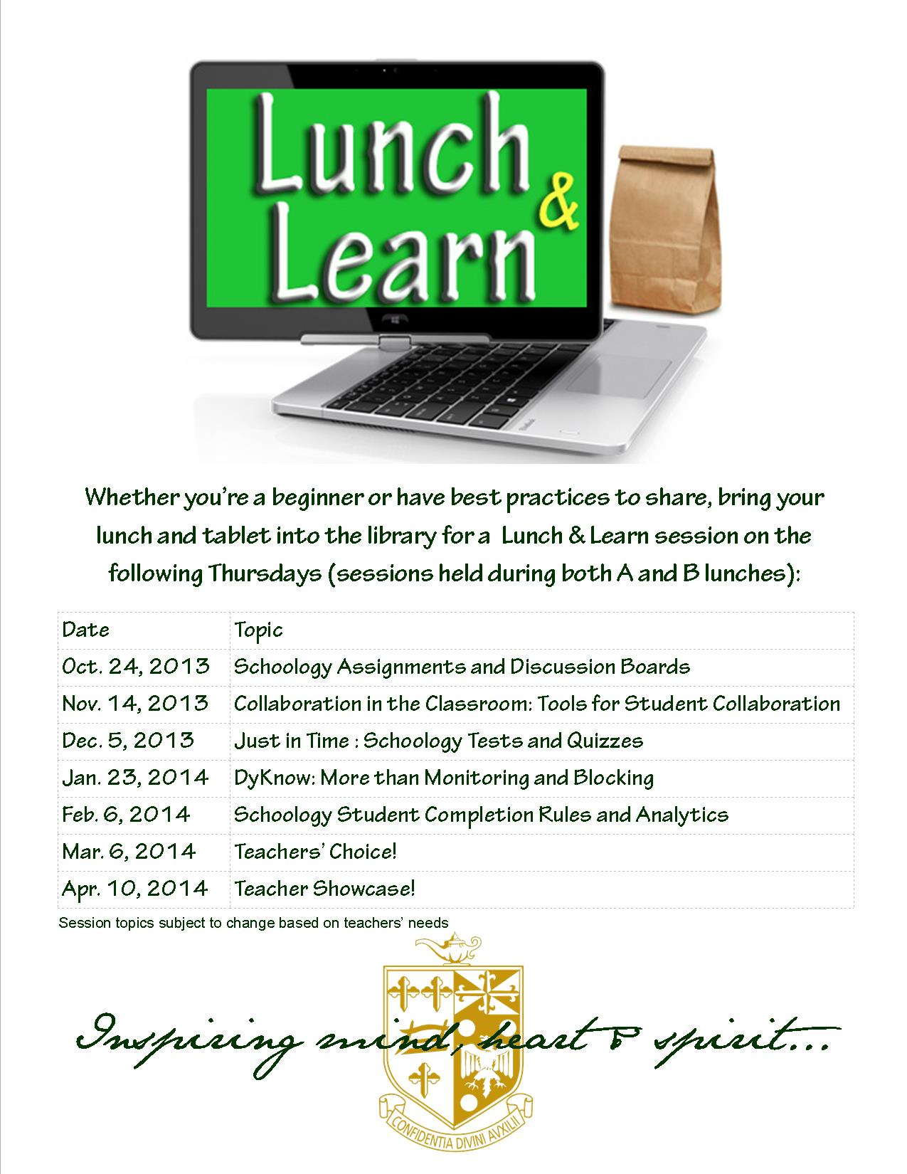 Developing a Lunch and Learn: Corporate Training Materials